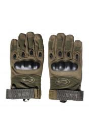 Оливковые тактические перчатки
