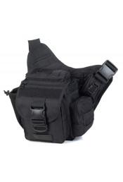 Маленькая черная сумка через плечо