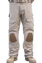 Хаки штаны с наколенниками Pave Hawk
