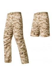 Штаны-шорты песочный цифровой камуфляж