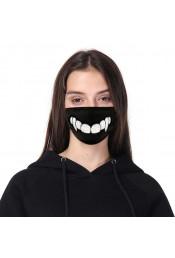 Защитная маска с принтом зубов