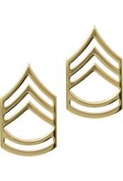 Золотые петлицы сержанта 1-го класса