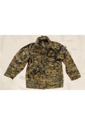 Водонепроницаемая куртка Цифровой лесной камуфляж