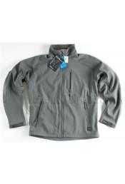 Легкая куртка Дельта Серо-зеленая