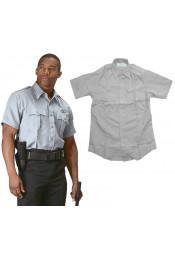 Серая рубашка 30045