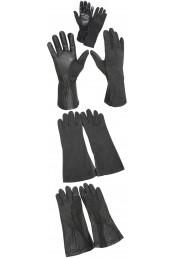 Огнезащитные черные перчатки 3457