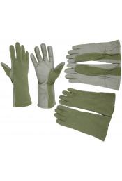 Огнезащитные оливковые перчатки 3457