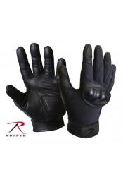 Тактические черные перчатки 3463