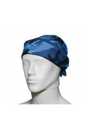 Бандана Голубой камуфляж 4138