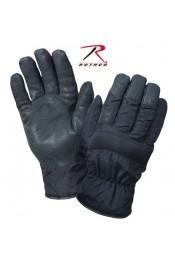 Нейлоновые черные перчатки 4494