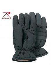 Охотничьи черные перчатки 4945