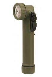 Светодиодный мини-фонарик оливковый 527