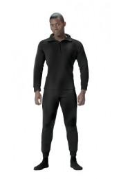 Нижние черные штаны 6245