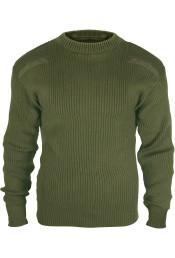 Оливковый акриловый свитер COMMANDO 6347