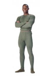 Нижние штаны оливковые 6442