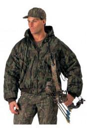 Куртка с капюшоном дымчатый камуфляж 7583
