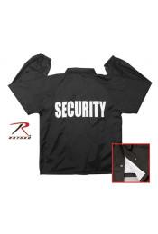 Ветровка черная SECURITY 7648