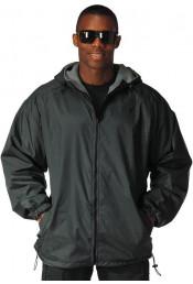 Двухсторонняя черная куртка 8263