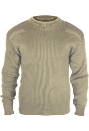 Акриловый свитер COMMANDO хаки 8346