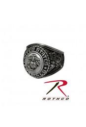 Серебряное кольцо морской пехоты 843