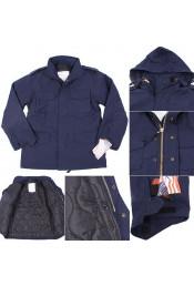 Темно-синяя курточка М-65 8527