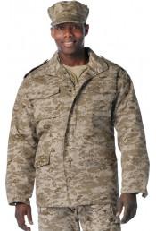 Камуфляжная курточка М-65 8582