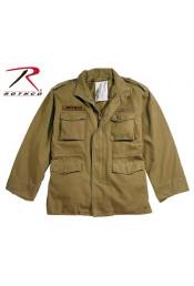 Винтажная коричневая куртка М-65 8616