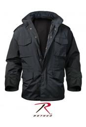 Нейлоновая черная куртка М-65 8644
