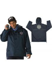 Синяя нейлоновая куртка EMT 8662