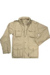 Винтажная курточка М-65 хаки 8741