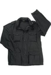Винтажная черная куртка М-65 8751