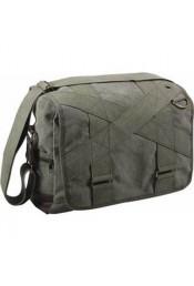 Оливковая винтажная сумка 9115