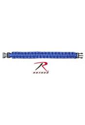 Синий браслет из паракорда 924