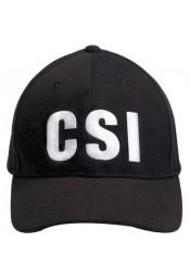 Черная бейсболка CSI 9883