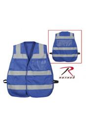 Синий жилет безопасности 9518