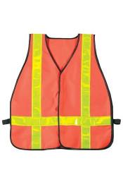 Оранжевый жилет безопасности 9524