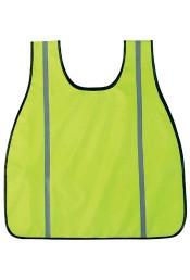 Неоновый зеленый жилет безопасности 9526