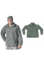 Флисовая куртка Зеленая листва 9778