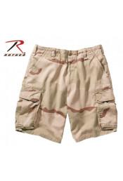 Винтажные десантные шорты камуфляжные 2150