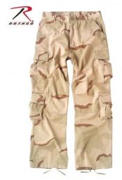 Винтажные брюки пустынный камуфляж 2186