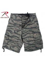 Винтажные шорты Тигровый камуфляж 2214