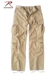 Винтажные десантные брюки Хаки 2686