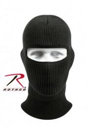 Черная маска с одним вырезом 5515
