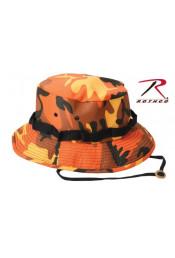 Шляпа JUNGLE оранжевый камуфляж 5549