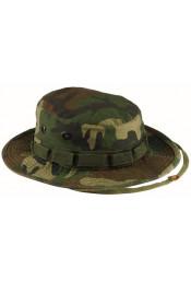 Винтажная шляпа в стиле Boonie камуфляжная 5900