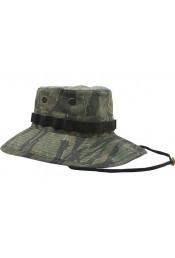 Винтажная шляпа VIETNAM Boonie тигровый камуфляж 5915