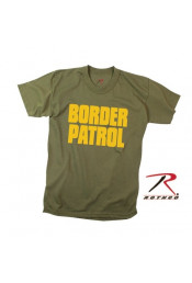 Оливковая футболка BORDER PATROL 60468