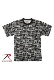 Черная футболка FADED GUNS 66230