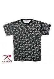 Черная футболка BOMBS 66920