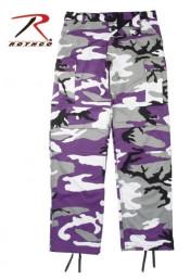 Брюки BDU ультра фиолетовый камуфляж 7925
